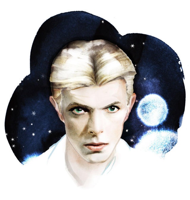 Title: David Bowie gallery