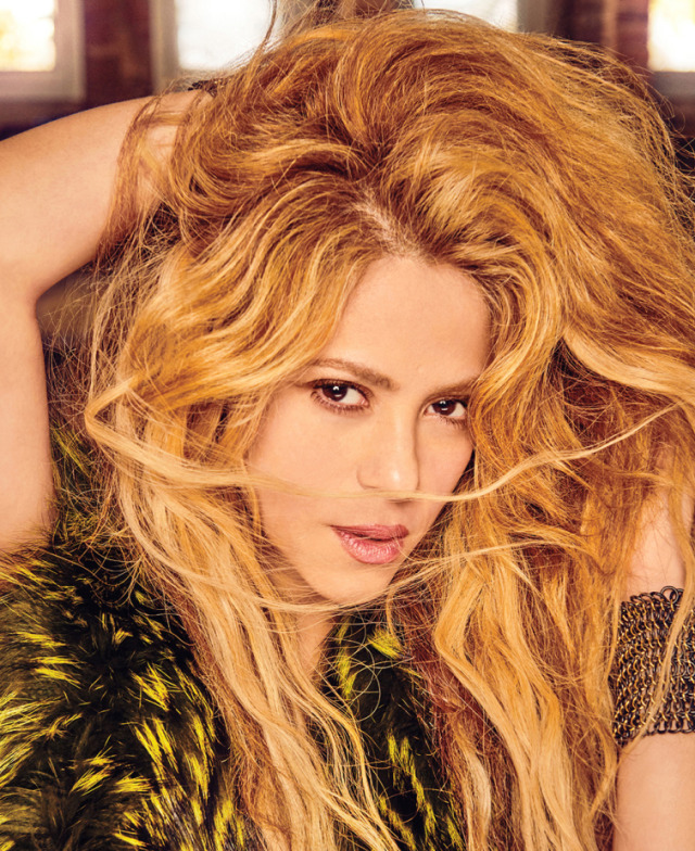 Shakira for Billboard, shot by Ruven Afanador with Little Devil Production gallery