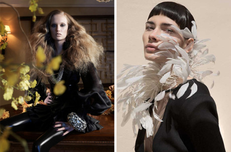 Hair + Make Up: Scott Patric (Left+Right) / Styling: Danny Santiago (Right) gallery