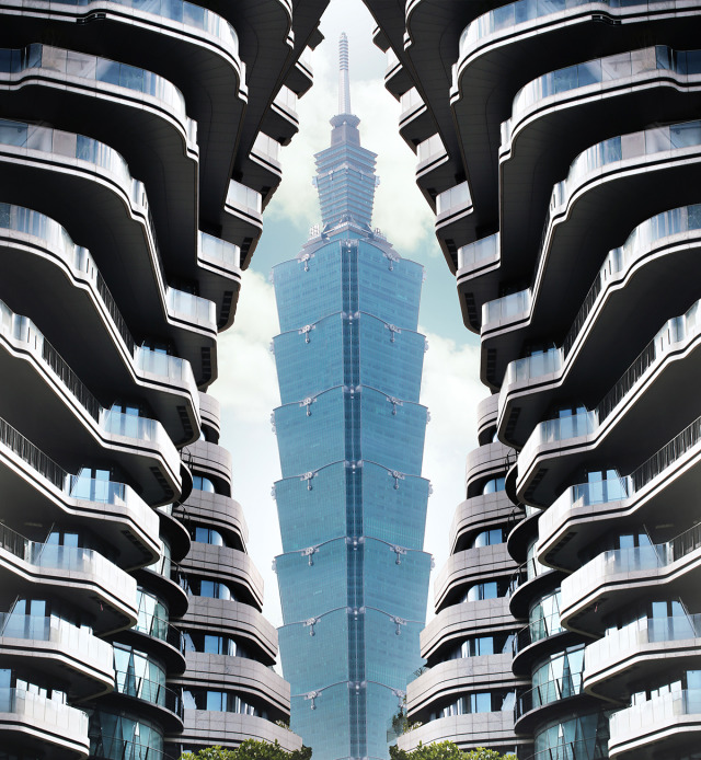 Double Helix Eco-Tower gallery