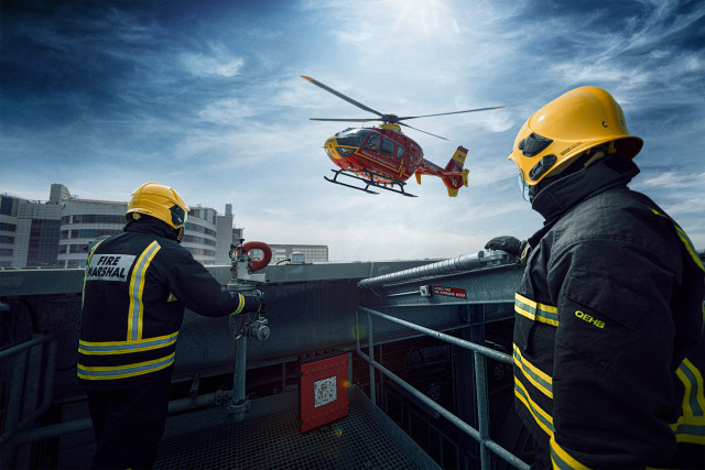 2020 Air Ambulance - ProBono project for the MAA charity gallery