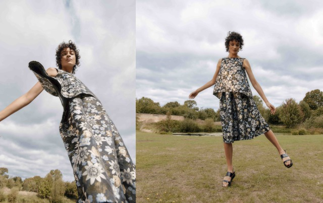Client: The Outnet x Erdem gallery
