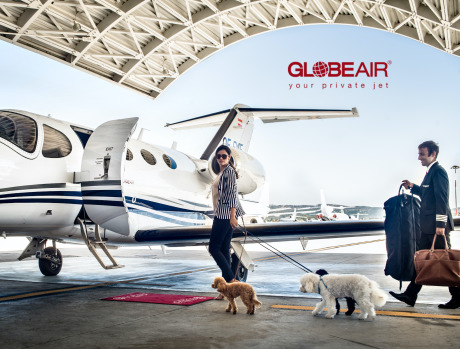 Client: Globe Air gallery
