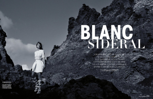 Madame Figaro Blanc Sideral gallery