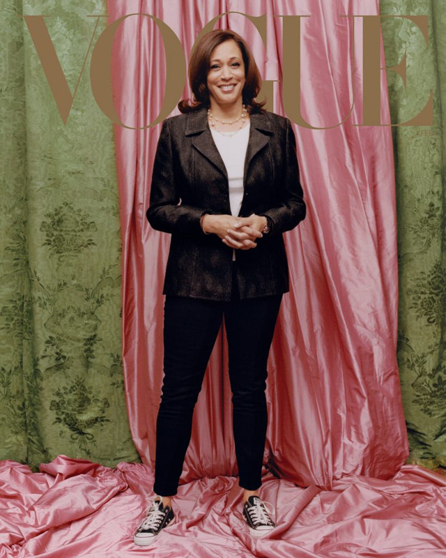 Kamala Harris, Vogue Magazine gallery
