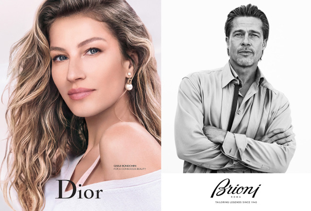 Photographer: Mikael Jansson for Dior (left) and Brioni (right) gallery