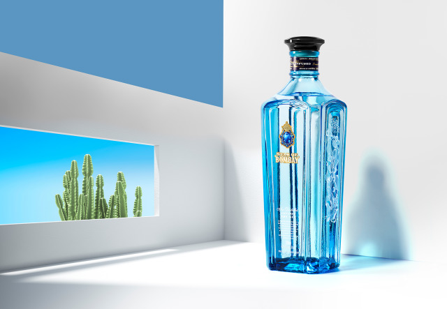 Client: Bombay Sapphire gallery