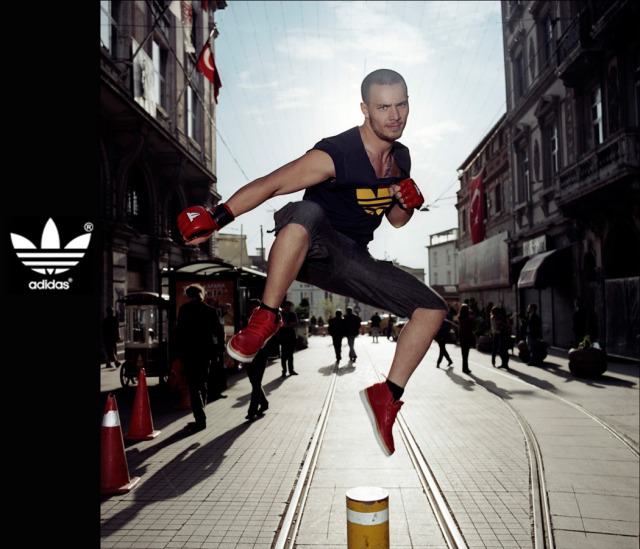 Campaign: Adidas Celebrity gallery