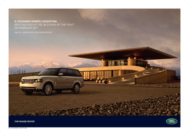 Client: Range Rover gallery
