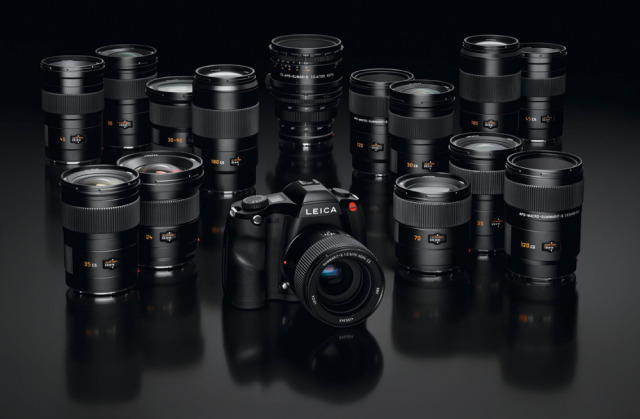 Leica S Body S-Lenses Range gallery